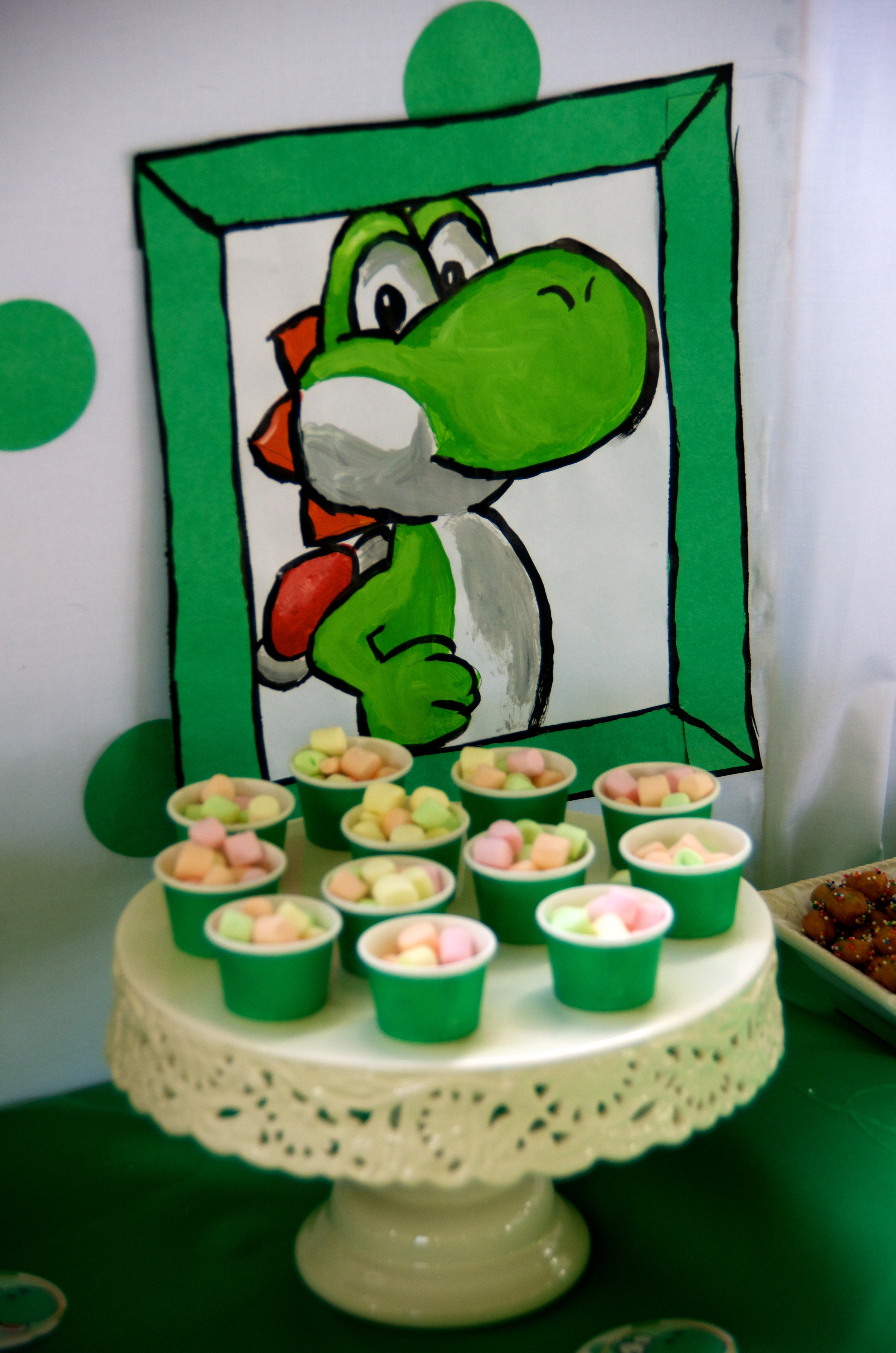 Finally the Yoshi inspired Birthday Party!!!! | The Party ...