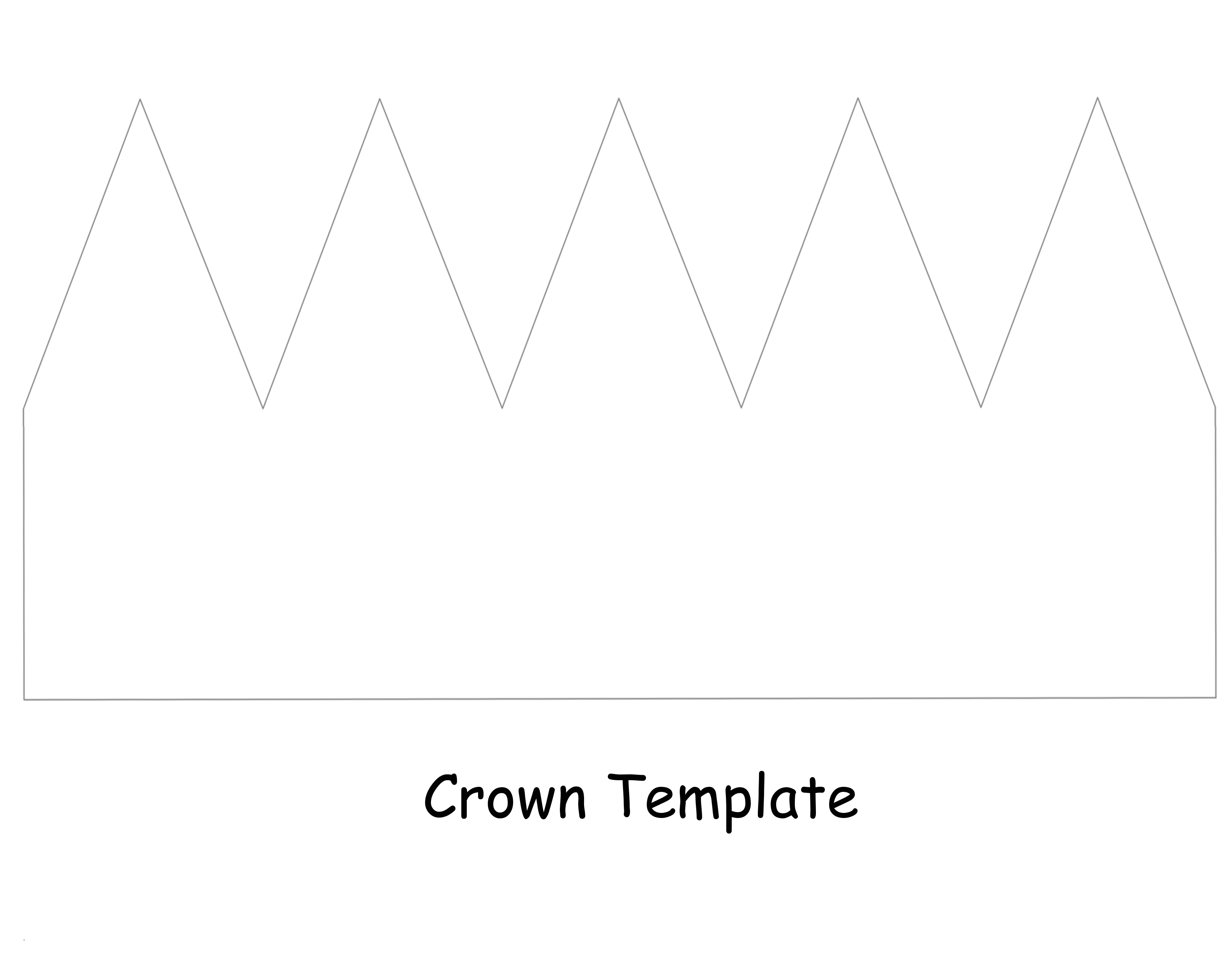 paper crown template for kids kings and queens of miami diy project crowns and the