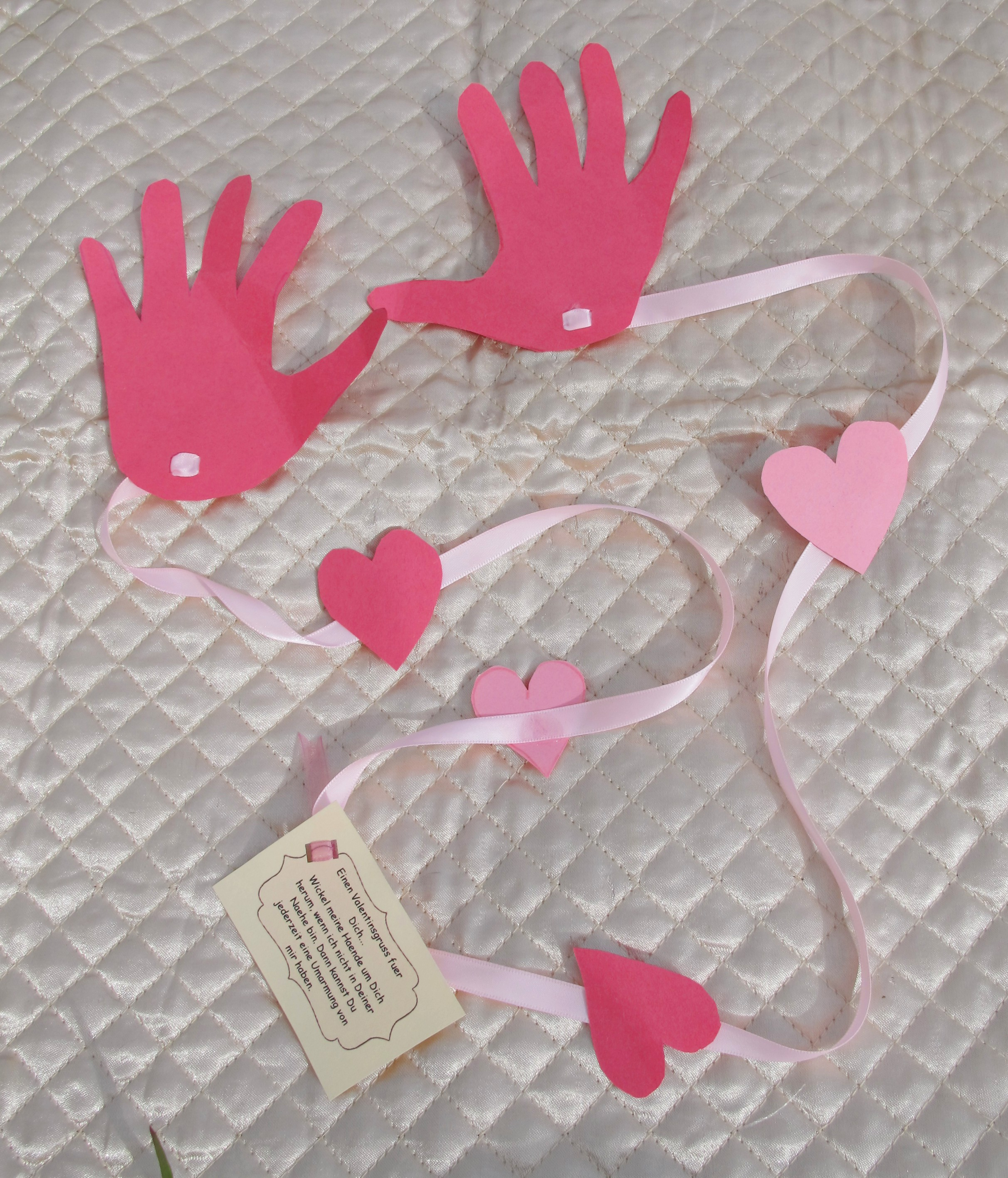 Valentine Craft For Kids A Long Distance Hug A
