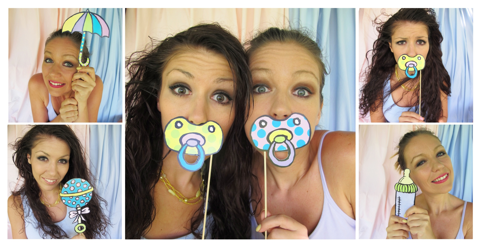 baby shower photo booth ideas