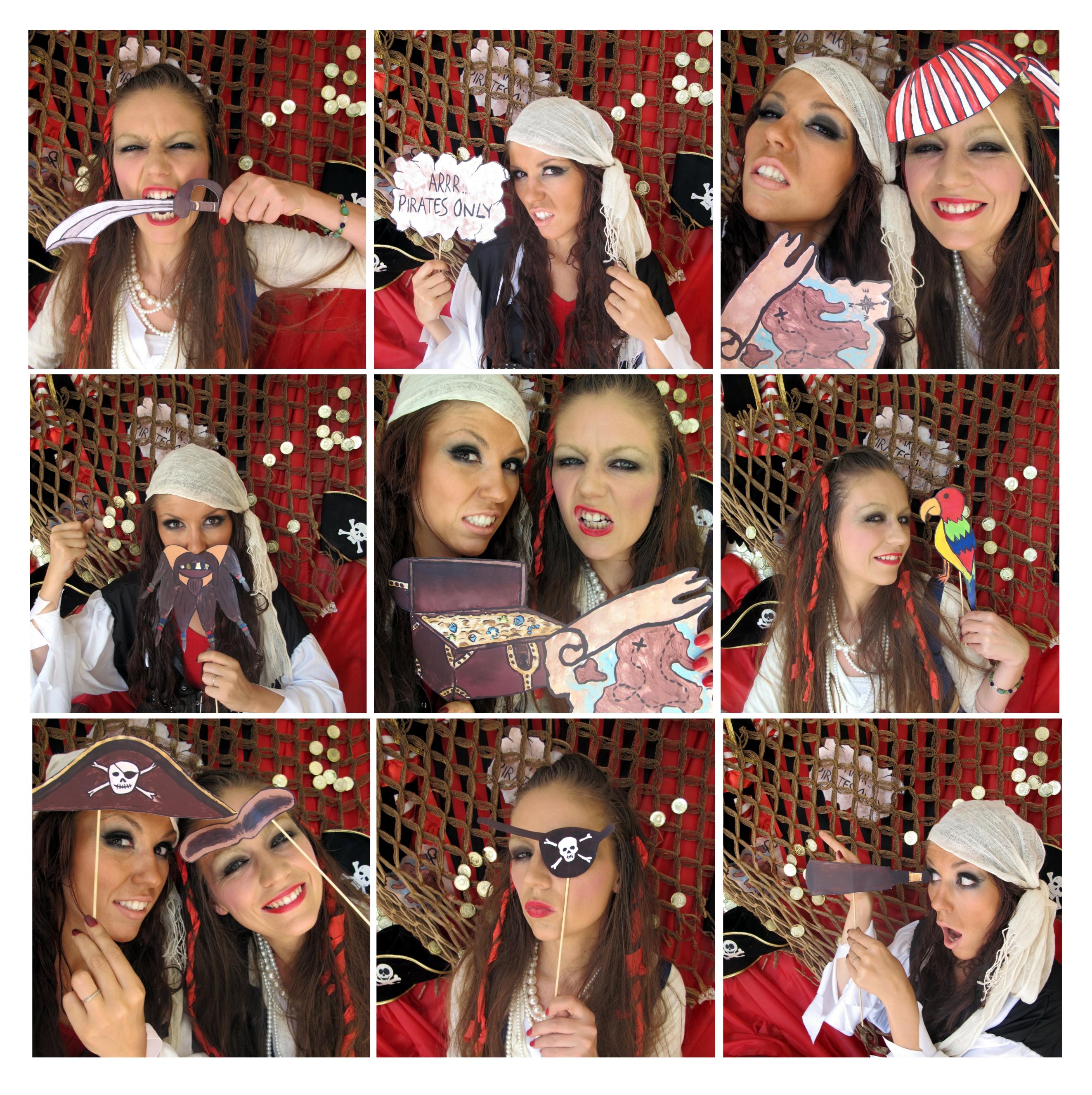 Arrrrrrrrrrr! Pirate Photo Booth Props