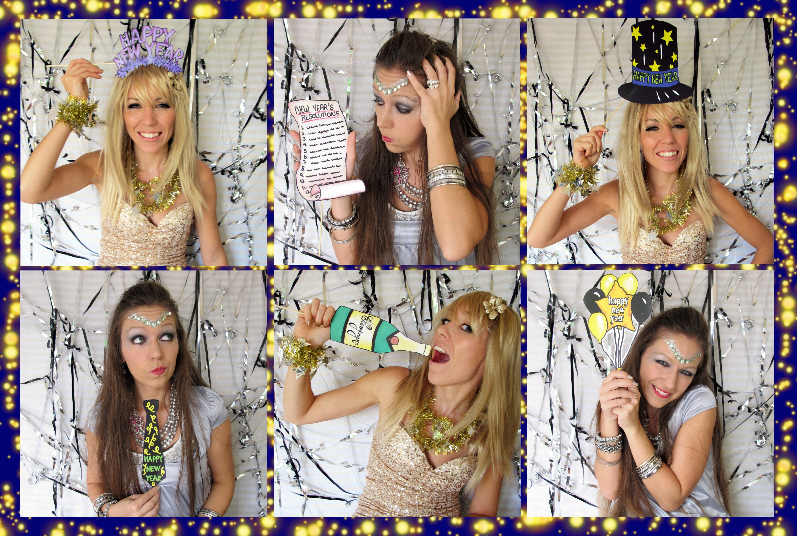 Happy New Year Photo Booth Props Perfect For Your New Years Eve