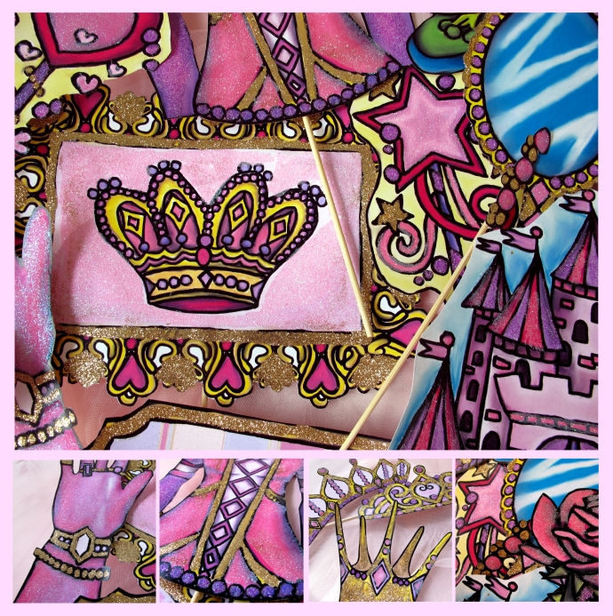 princessglittercollage