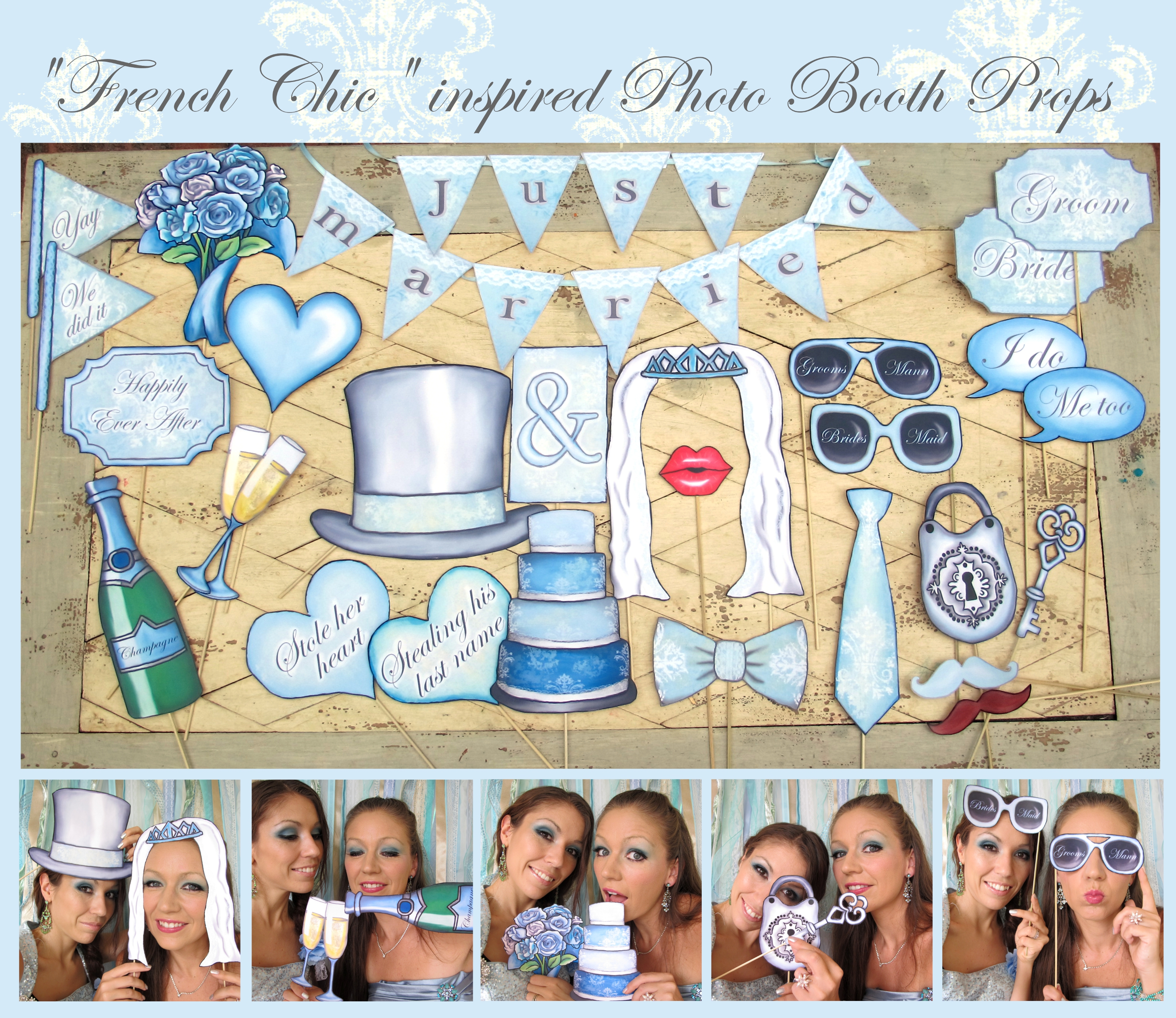 An Overview Of All Our Photo Booth Props