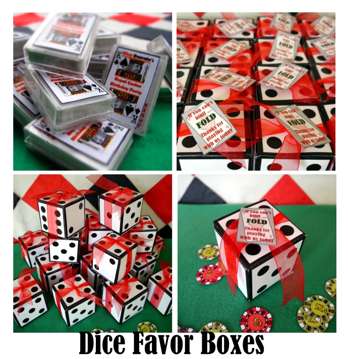 favor boxes collage